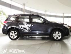 Молдинги дверей Subaru Forester 2013- Rider