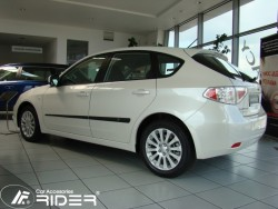 Молдинги дверей Subaru Impreza 2011-2014 Rider