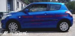 Молдинги дверей Suzuki Swift 2011- 3 двери Rider