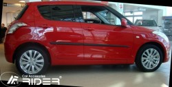 Молдинги дверей Suzuki Swift 2011- 5 дверей Rider