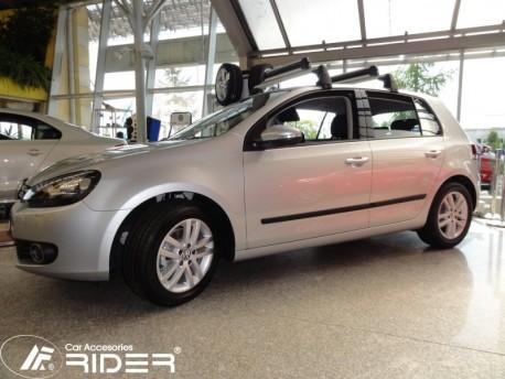Фото Молдинги дверей Volkswagen Golf 5, 6 03-12 5 дверей Rider