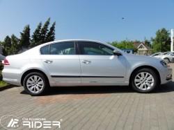 Молдинги дверей VW Passat B7 10-15 седан, универсал Rider
