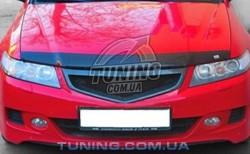 Дефлектор капота на Honda Accord 2003-2005 EGR Темний