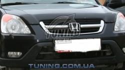 Дефлектор капота на Honda CR-V 2002-2006 EGR темный