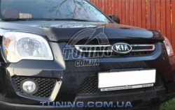 Дефлектор капота на Kia Sportage 2005-2010 EGR темный
