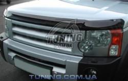 Дефлектор капота на Land Rover Discovery 2004-2009 EGR темный