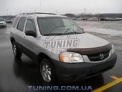 Дефлектор капота на Mazda Tribute 2000-2007 EGR темный
