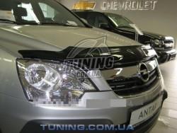 Дефлектор капота на Opel Antara 2006-2011 EGR темный
