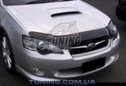 Дефлектор капота на Subaru Outback 2004-2009 EGR темный