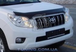 Дефлектор капота на Toyota Land Cruiser Prado 2009-2013 EGR Темний