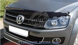 Дефлектор капота на Volkswagen Amarok 2010- EGR Темний