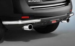 Уголки на задний бампер Nissan Murano 2008-2015 Cobra NIS1565