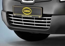 Решітка в бампер Nissan Qashqai 06-14 Cobra NIS1345