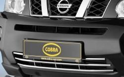 Решетка в бампер Nissan X-Trail 2007-2010 Cobra NIS1675