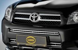 Решітка в бампер Toyota Rav-4 2006-2009 Cobra TOY1355