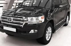 Защита штатных порогов Toyota LC200 2015- Can Otomotiv