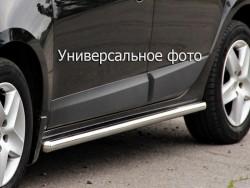 Боковые трубы Chevrolet Niva 2002-