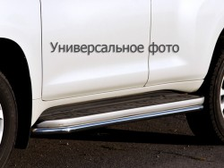 Окантовка порогов Toyota Land Cruiser 200 2007-2015