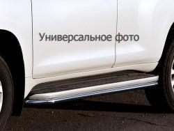 Окантовка порогов Toyota LC Prado 03-09, 09-