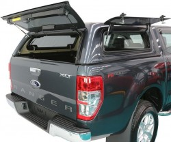 Кунг Ford Ranger 12-15, 16- Aeroklas боковые окна вверх
