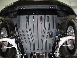 Защита картера Acura ZDX 2010- Полигон