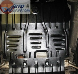 Защита коробки Cadillac Escalade 2007-2014 Полигон