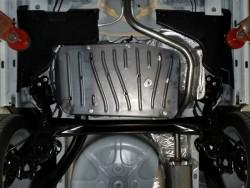 Защита топливного бака Fiat 500 2012- Полигон