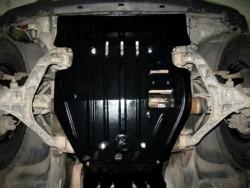 Защита картера Jeep Cherokee 2003-2008 Полигон