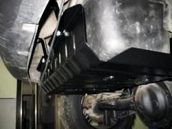 Защита бензобака Jeep Cherokee 2003-2008 Полигон