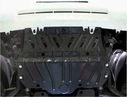 Защита радиатора Lexus GX 460 2009-2013 Полигон