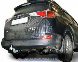 Фаркоп Toyota RAV 4 2013- Полигон-авто квадрат вставка