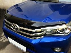 Дефлектор капота Toyota Hilux 2015- EGR