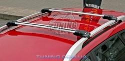 Багажник на рейлинги WingBar Edge серебро Thule