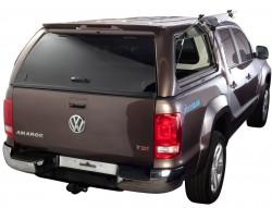 Кунг Volkswagen Amarok 2010- Aeroklas боковые окна вверх