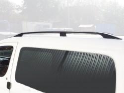 Рейлинги черные Citroen Berlingo 1996-2010 с металлическими наконечниками