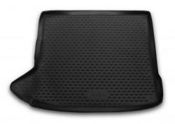 Коврик в багажник Audi Q3 15- рестайлинг полиуретановый черный Element