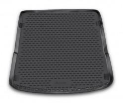 Коврик в багажник Audi Q7 06-15, полиуретановый черный Novline