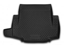 Коврик в багажник BMW 1 серии 04-11 хэтчбек, полиуретановый черный Element