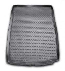 Коврик в багажник BMW 7 серии 08-15 седан, полиуретановый черный Element