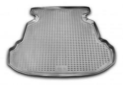 Коврик в багажник BYD F3 05-11 седан, полиуретановый черный Novline