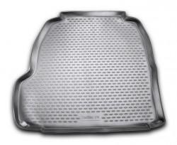 Коврик в багажник Cadillac CTS 07-14 полиуретановый бежевый Novline