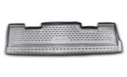 Коврик в багажник Cadillac Escalade 07-14, короткий полиуретановый черный Novline