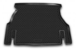 Коврик в багажник Daewoo Nexia 95-08, 08- седан, полиуретановый черный Element