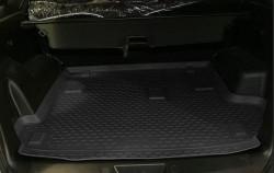 Коврик в багажник Great Wall Haval H3 10- полиуретановый черный Novline
