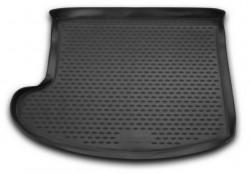 Коврик в багажник Jeep Liberty 01-08, полиуретановый черный Novline