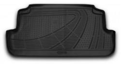 Коврик в багажник Lada Niva 2009- полиуретановый черный Novline