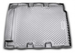 Коврик в багажник Land Rover Defender 07-16, 5 дверей полиуретановый черный Element