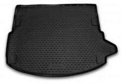 Коврик в багажник Land Rover Discovery Sport 15- без рейлингов полиуретановый черный Element