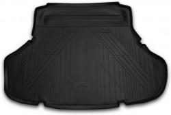 Коврик в багажник Lexus ES 12- седан полиуретановый черный Novline