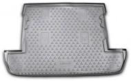 Коврик в багажник Lexus LX 07-12, 12- 7 мест короткий черный Element